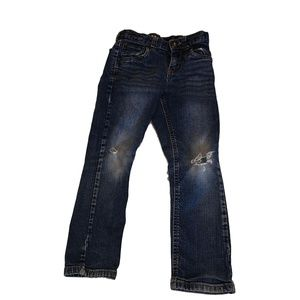 Cat & Jack 5T Girls Jeans With Rips Pants